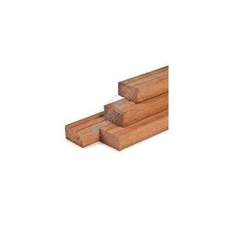 Hardhout onderligger geschaafd 45x145