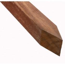 Azobé hardhouten paal geschaafd 90x90