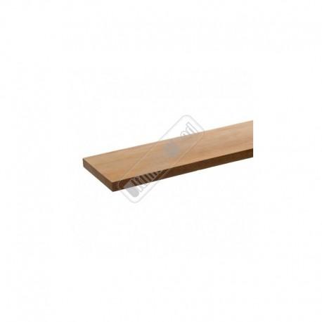 Cambara hardhouten schuttingplank geschaafd 15x145