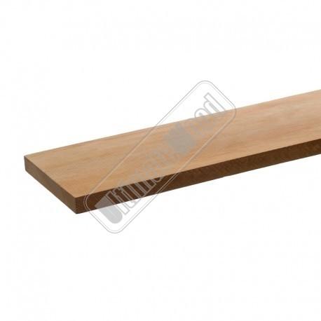 Cedrinho schuttingplank 15x141, glad geschaafd