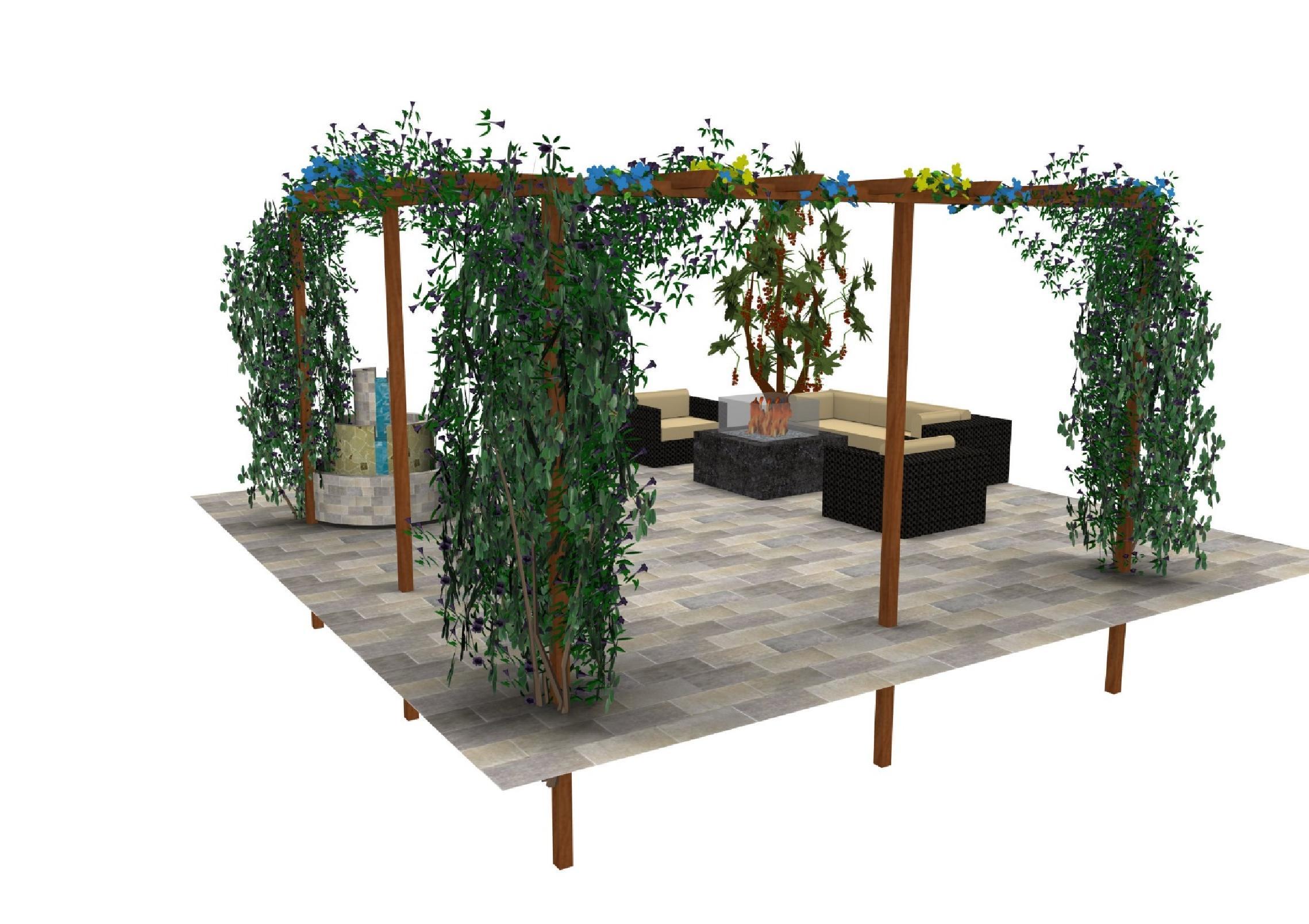 Stappenplan pergola plaatsen ultimate wood - Bedekking voor pergola ...