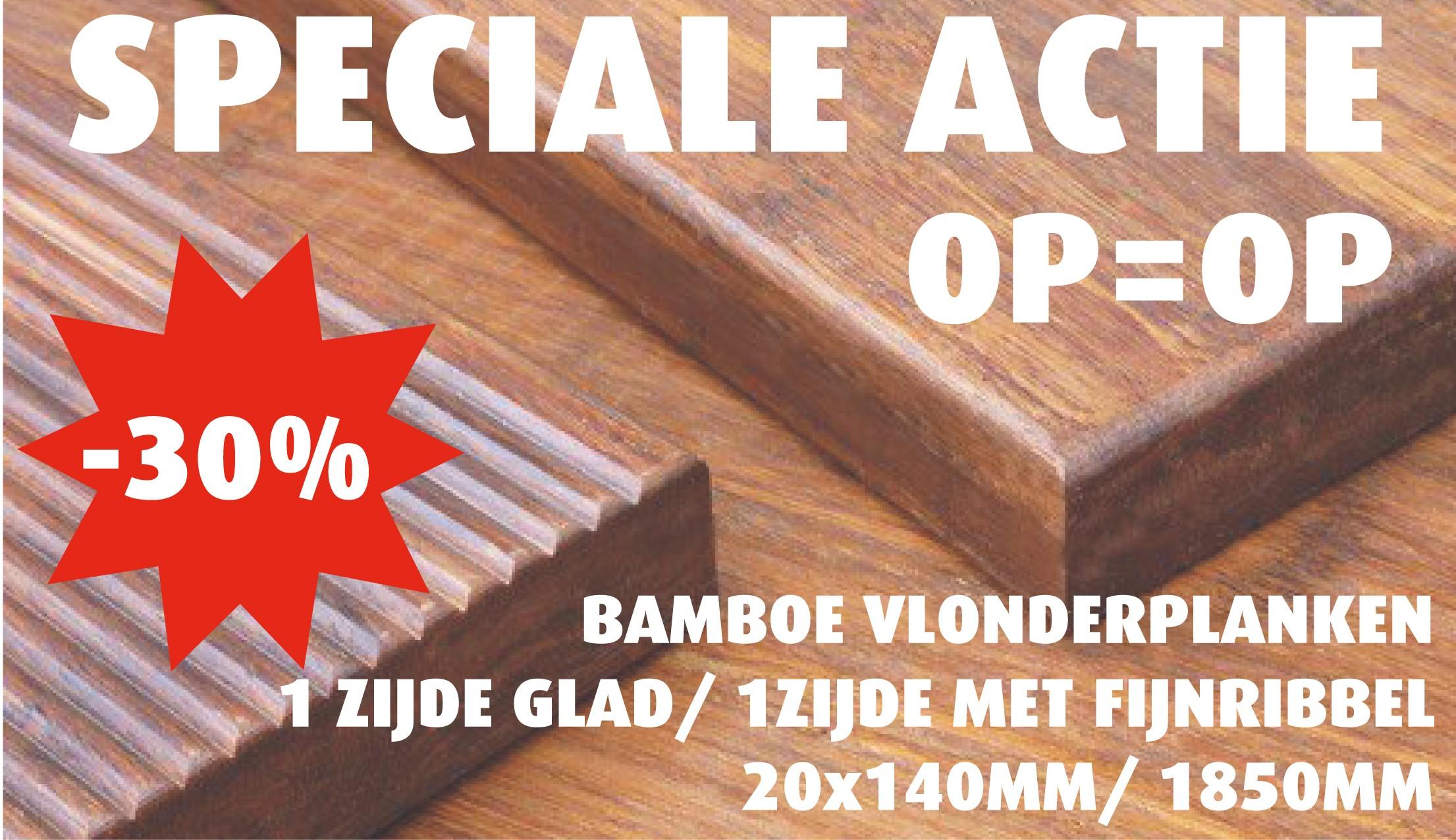 actie bamboe