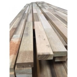 Louro preto hardhouten onderligger gevingerlast 34x72