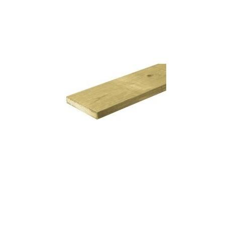 Grenen schuttingplank geschaafd 16x140