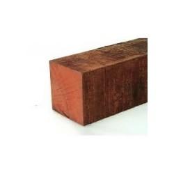 Hardhouten paal fijnbezaagd 150x150