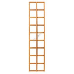 Trellis recht hardhout 40x180cm