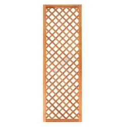 Trellis diagonaal met lijst hardhout type 2