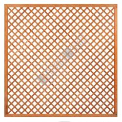 Trellis diagonaal met lijst hardhout 180x180cm