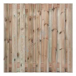 Tuinscherm 17 planks 180x180cm