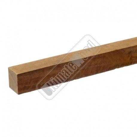 hardhouten paal geschaafd 65x65