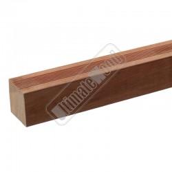 Hardhouten Funderingspaal geschaafd 55x55
