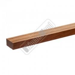 Hardhouten onderligger geschaafd gevingerlast 40x80x4000mm