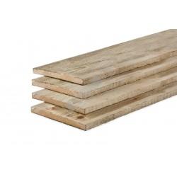 Vuren geïmpregneerd/fijnbezaagde planken 22x200