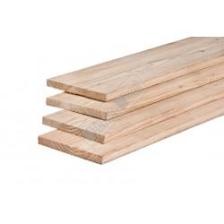 Douglas fijnbezaagde plank 25x250