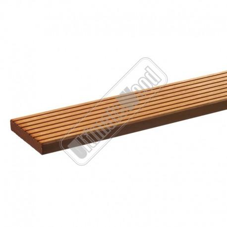 hardhouten vlonderplank met ribbel 21x145