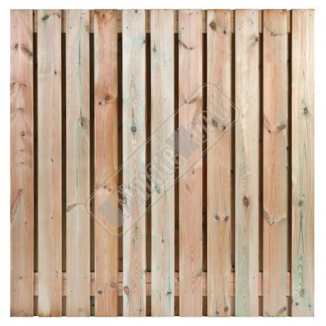 Tuinscherm Geimpregneerd Grenen 21 planks